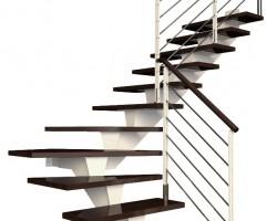 Rompe d'escalier en inox